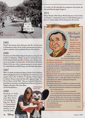 Disney Magazine Summer 2005 pg 38