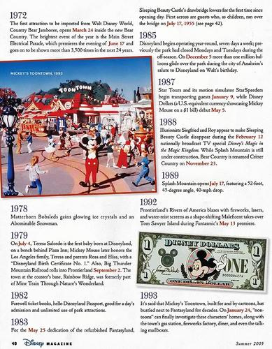 Disney Magazine Summer 2005 pg 40
