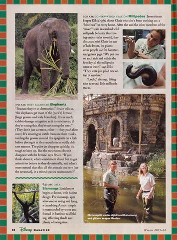 Disney Magazine Winter 2003-04 pg 38