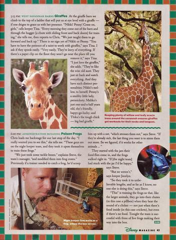 Disney Magazine Winter 2003-04 pg 43