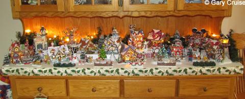 disney parks village - Dept 56 Christmas Village