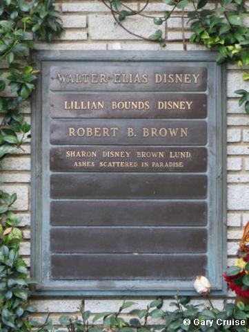 Walt's headstone