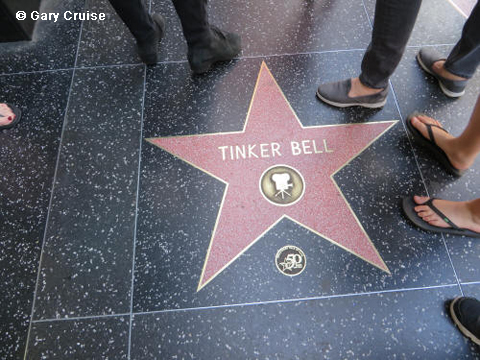 Tinker Bell's star