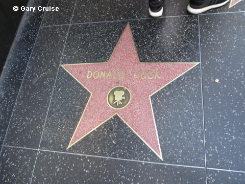 Donald Duck's star