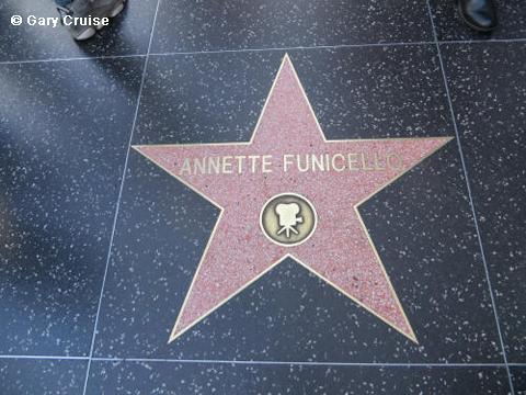Annette Funicello's star