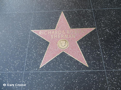 Sherman Brothers' star