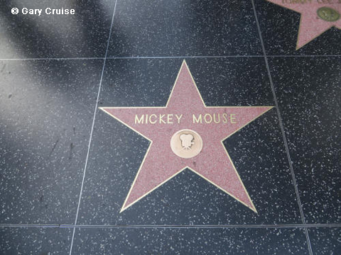 Mickey Mouse's star