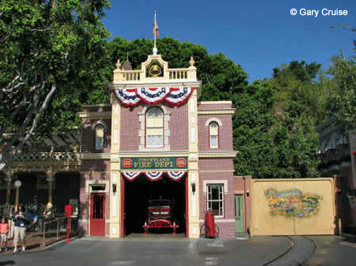 Disneyland Fire Hall