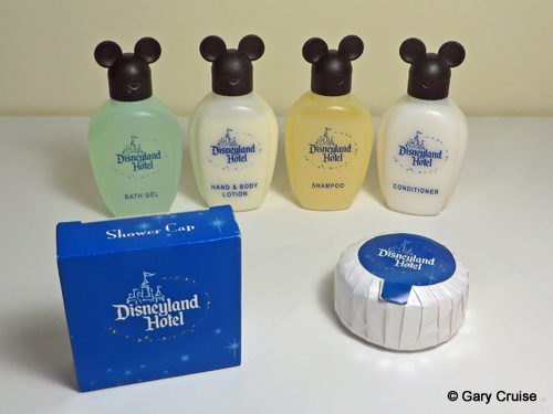 Disneyland Hotel soaps and lotions