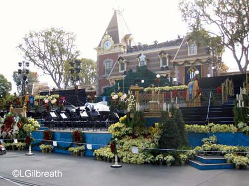 Disneyland Processional risers