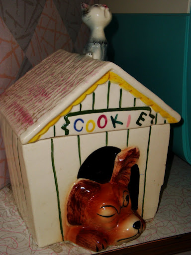 Dog House Cookie Jar
