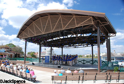 Downtown Disney Waterside Stage