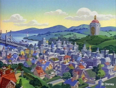 Duckburg Skyline