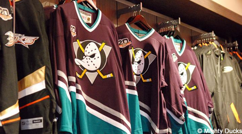 Ducks jerseys