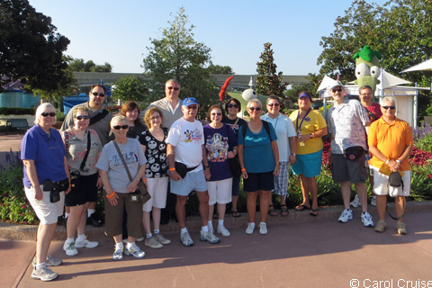 EPCOT breakfast group