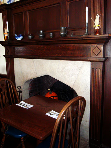 Elizabethan Room Fireplace