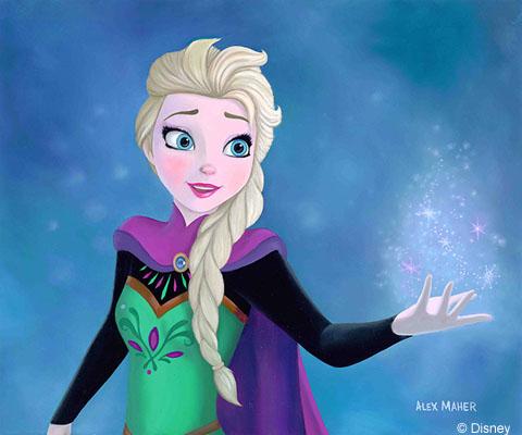 Elsa by Alex Maher