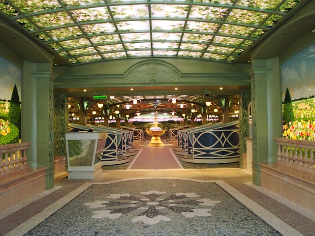 Dining On The Disney Dream Enchanted Garden Allears Net