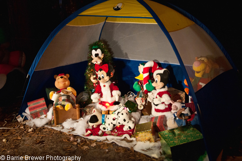 Fort Wilderness Christmas Campsite