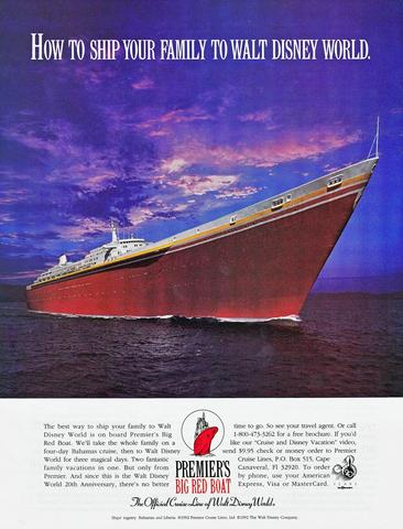 Big Red Boat Ad 1992