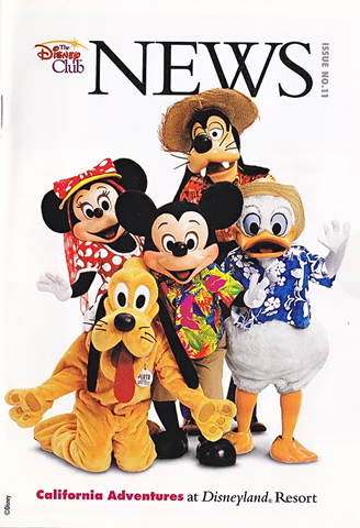 Disney Club News Issue 11