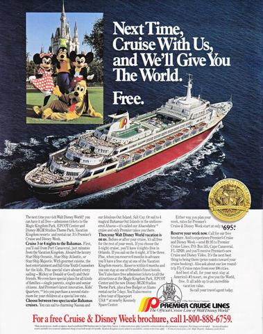 Big Red Boat Ad 1990