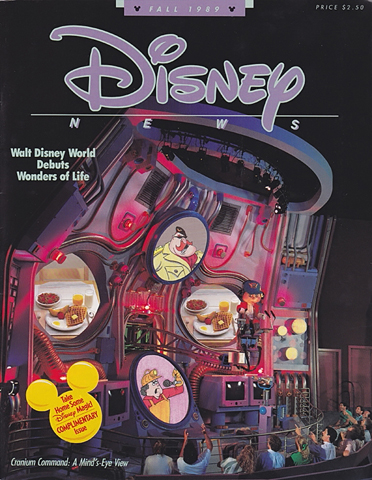 Disney News Fall 1989