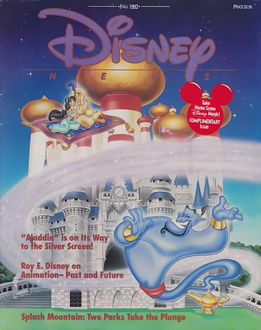 Disney News Fall 1992