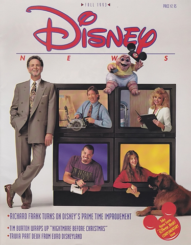 Disney News Fall 1993