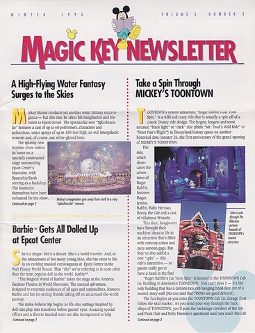 Magic Years Magazine Winter 1993