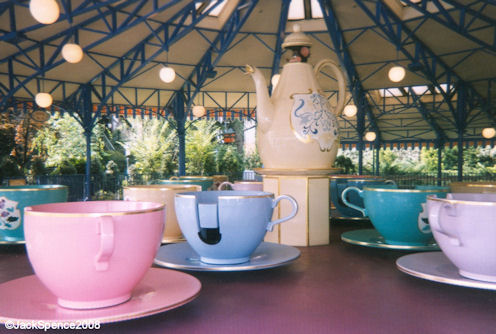 Fantasyland Tea Cups Ride