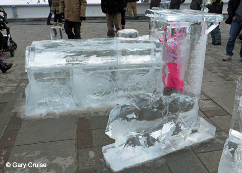 FebFest Ice Sculpture