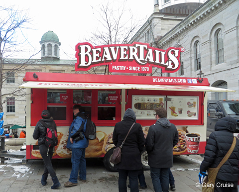 FebFest BeaverTail Kiosk