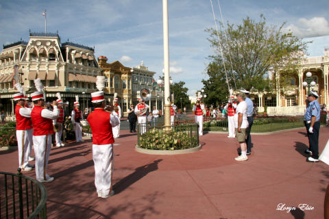 Magic Kingdom Flag Retreat