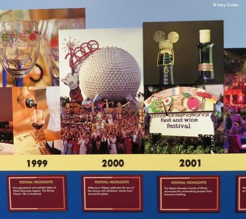 Food and Wine 1999-2001