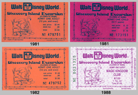 Discovery Island Tickets