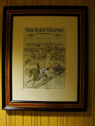 Framed Newspaper