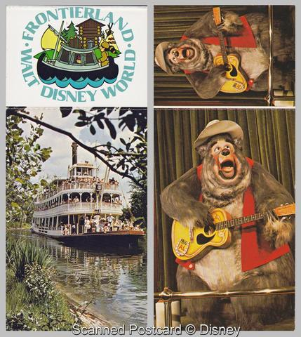 Frontierland Postcard Booklet
