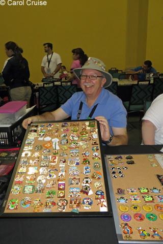 Gabes pin trading board