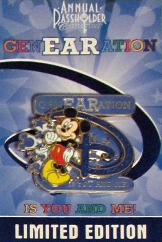 GenEARation D Passholder pin