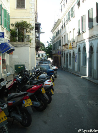 Side Street in Gibraltar