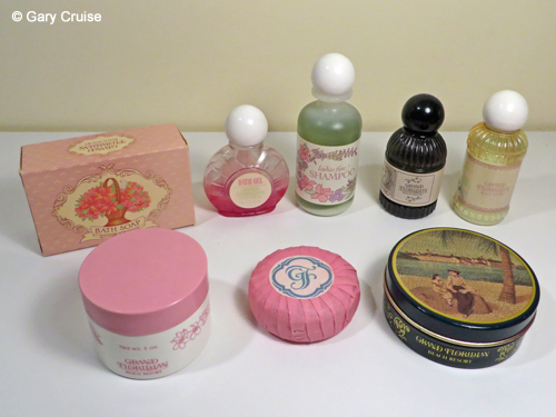 Grand Floridian soaps and lotions
