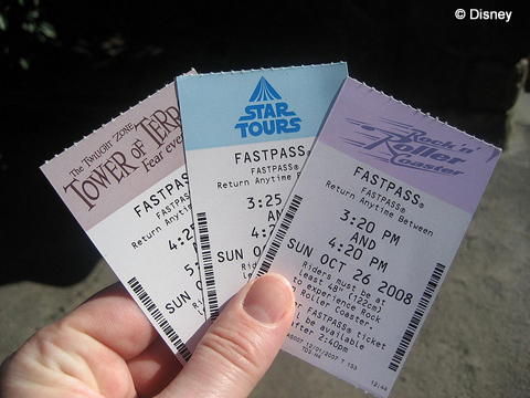 Hollywood Studios FastPasses
