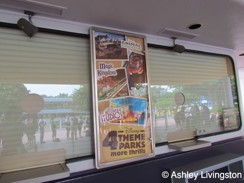 Ticket booth poster