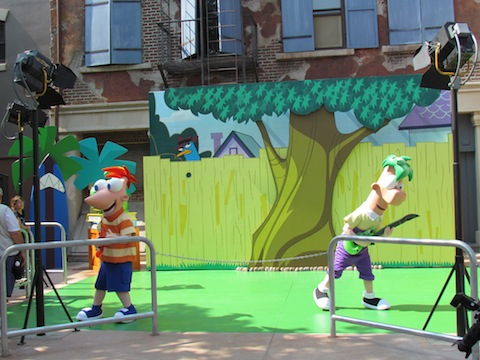 Phineas and Ferb guitars