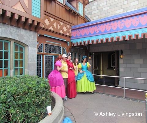 Lady Tremaine, Anastasia and Drizella