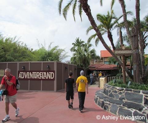 Adventureland bridge