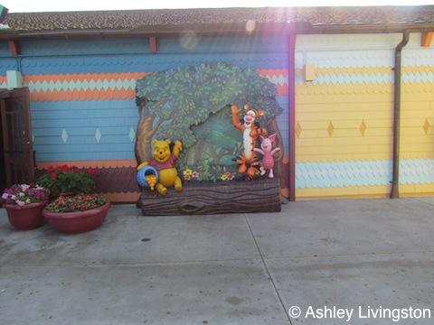 Pooh photo-op