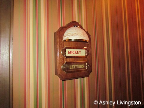 Mickey letter box