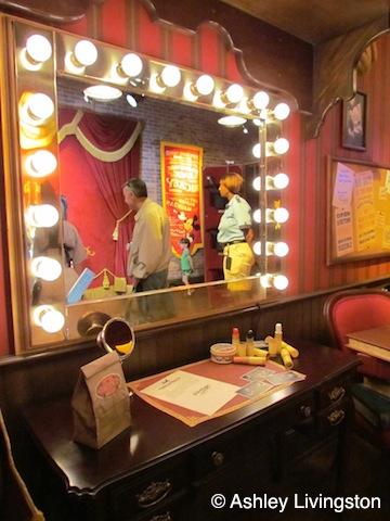 Mickey's vanity